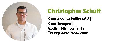 Christopher Schuff Sportwissenschaftler Sportpark Heppenheim
