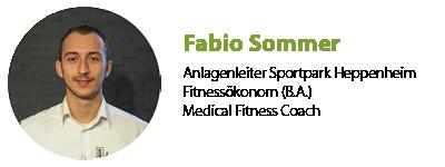 Fabio Sommer Anlagenleiter Sportpark Heppenheim