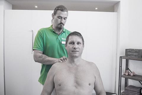 Medizinische Massage Sportpark Heppenheim Physiotherapie